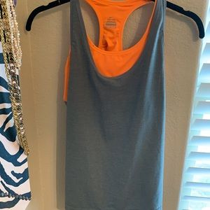 Nike Fit workout tank with built in sports bra.